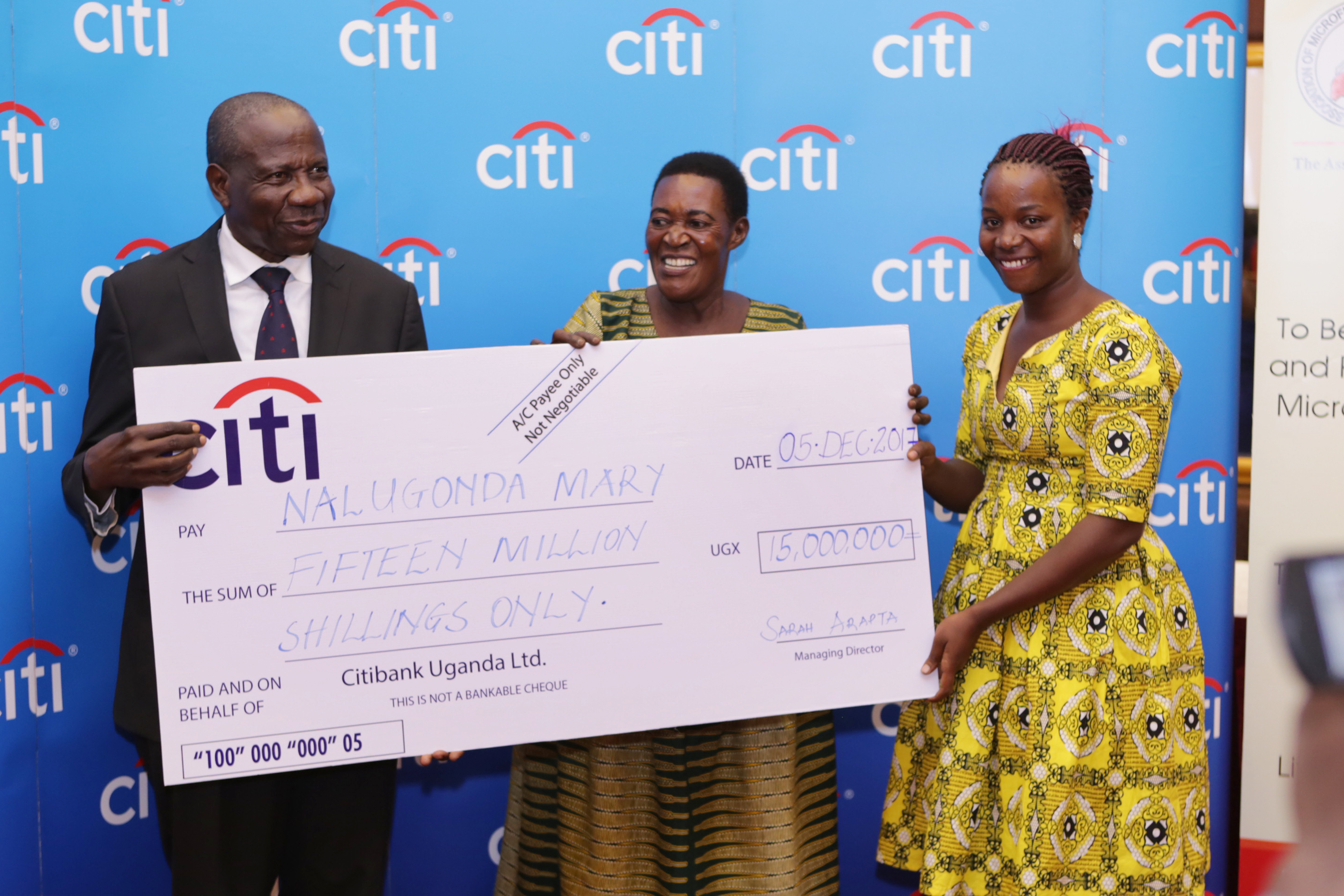 Citi awards 2017